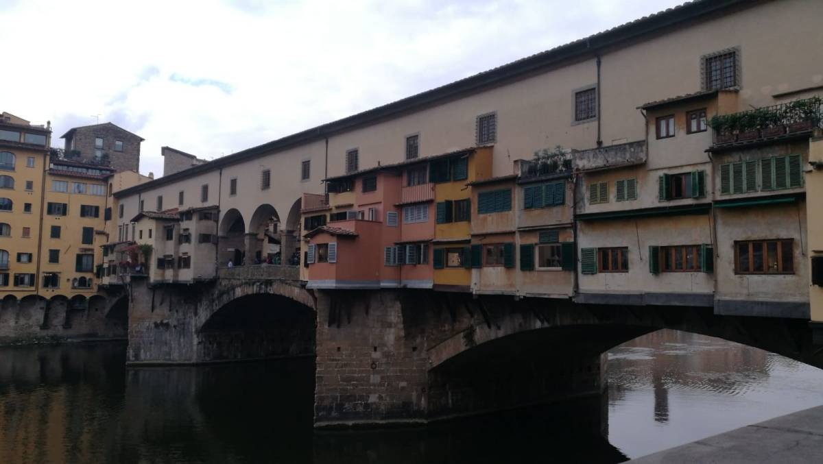 Quattro passi (o forse più) per  Firenze. Walking (a lot) around Florence.