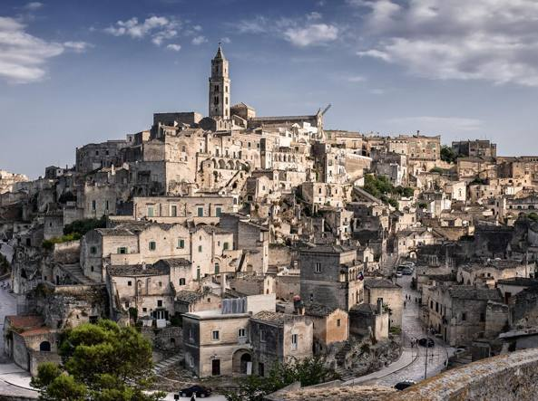 Matera, capitale europea della cultura. Matera, european capital of culture.