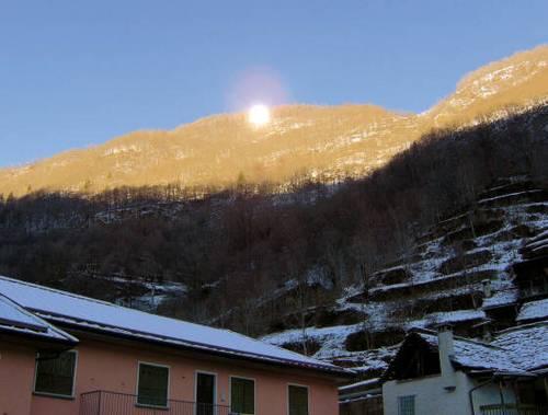Viganella, un borgo al buio. A village in thedark.