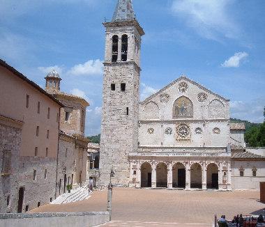 Spoleto Cattedrale di Santa Maria Assunta